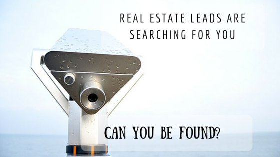 Real Estate Leads are Searching for YOU