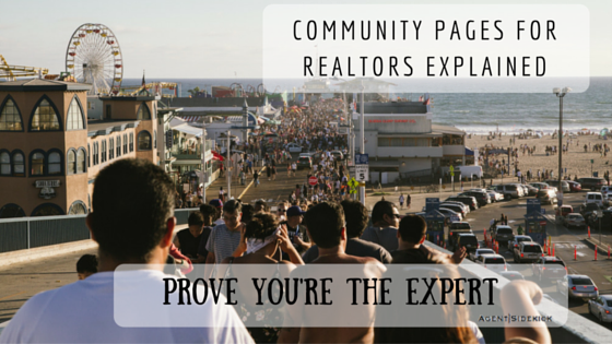 Community Pages for Realtor websites explained
