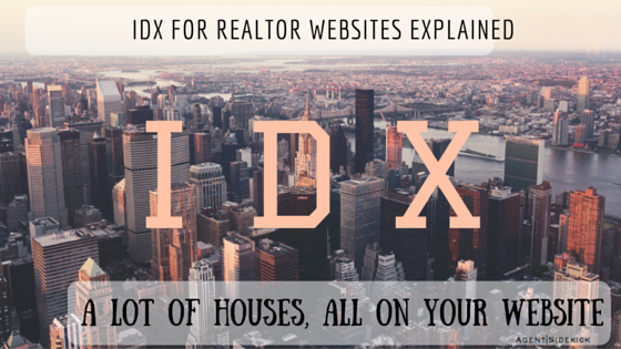 IDX for Realtor Websites Explained